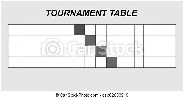 8b6ae0972 Team results table template. summary tournament table. vector.