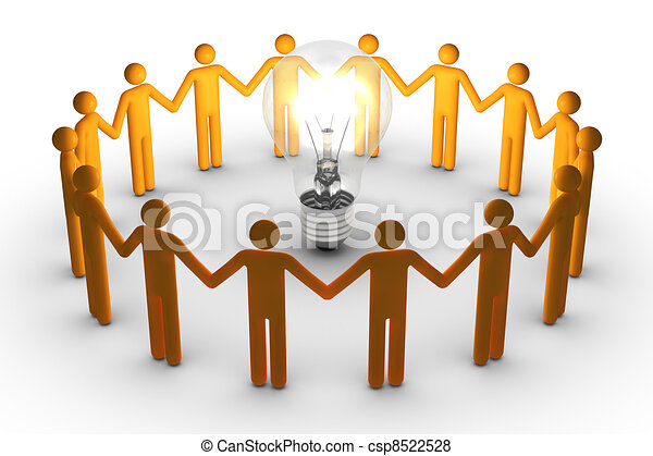 Team work for ideas - csp8522528