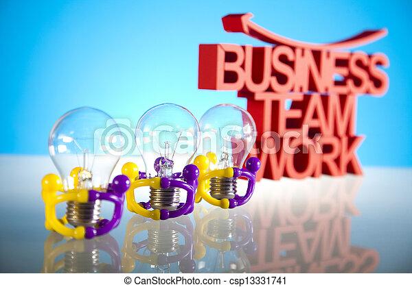 Team work  - csp13331741