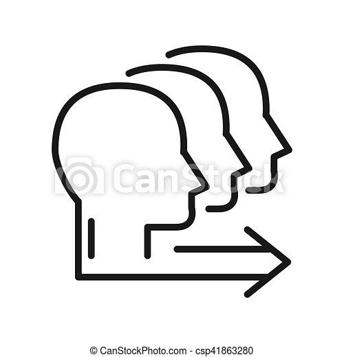 team working illustration design - csp41863280