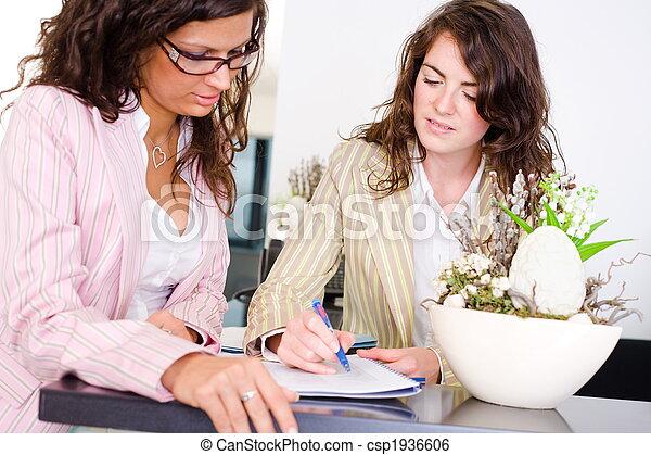 Teamwork at office - csp1936606