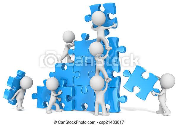 Teamwork. - csp21483817