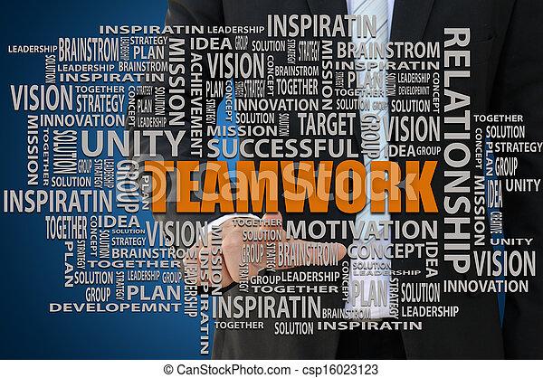Teamwork Concept - csp16023123