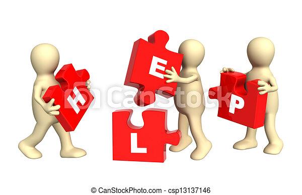 Teamwork - csp13137146