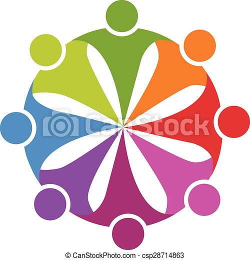 teamwork friendship party logo teamwork friendship party clip rh canstockphoto ie teamwork clip art black and white teamwork clipart free