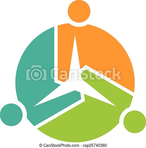 teamwork group of three people teamwork of people forming clip rh canstockphoto com teamwork clip art pictures teamwork clip art cartoons