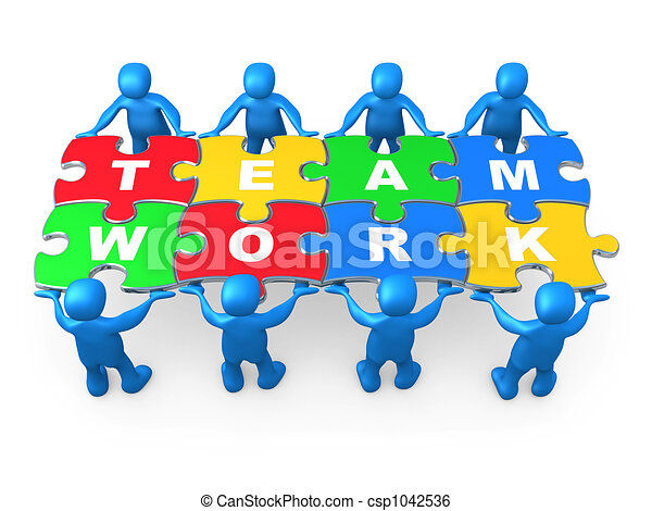 teamwork clipart and stock illustrations 210 250 teamwork vector rh canstockphoto com Inspirational Teamwork Clip Art Teamwork Cartoons Clip Art