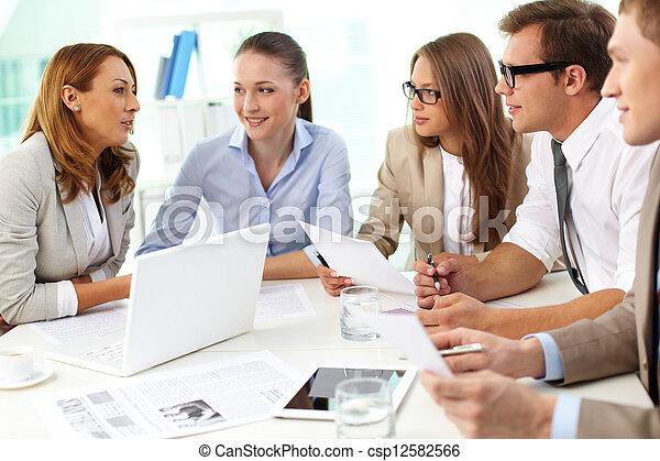 Teamwork - csp12582566