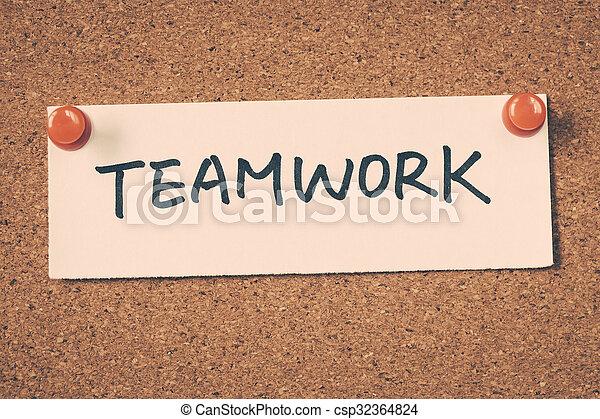 teamwork - csp32364824