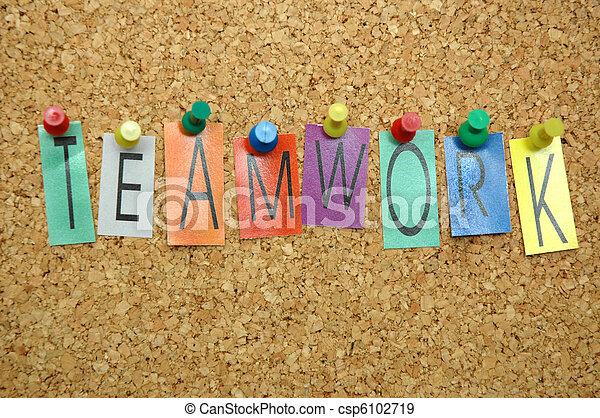 Teamwork - csp6102719