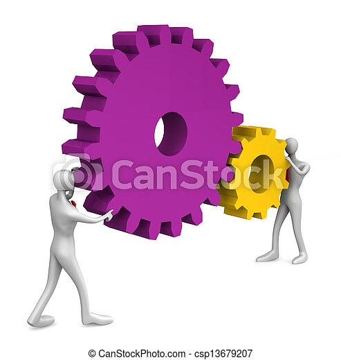 teamwork - csp13679207
