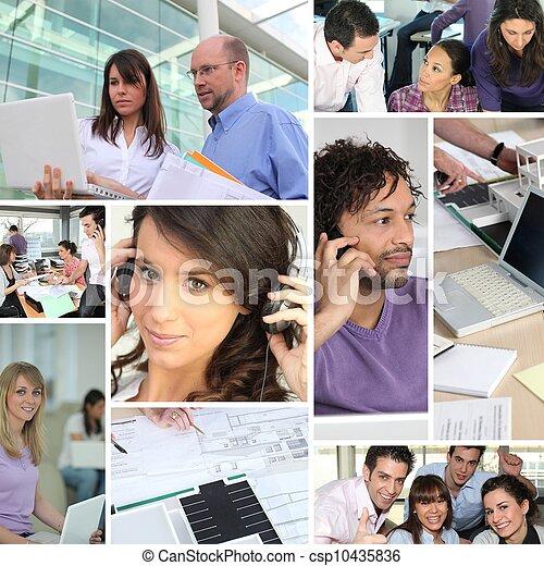 Teamwork - csp10435836