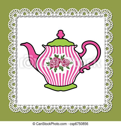 Teapot - csp6750856