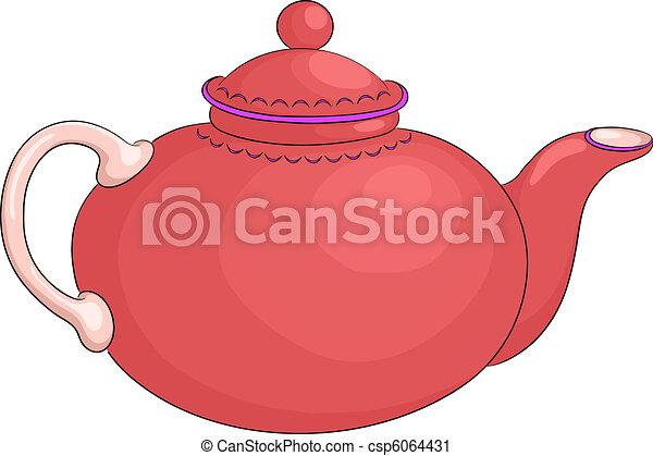 Teapot - csp6064431