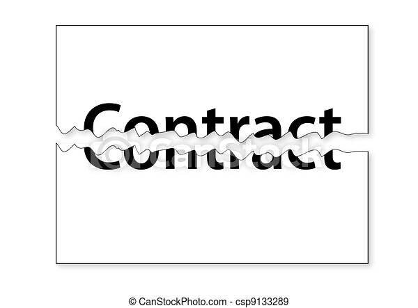 Tear Contract - csp9133289