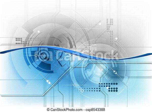 tech background - csp8543388