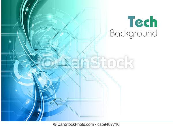 tech background - csp9487710