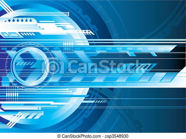 tech, digitális - csp3548930