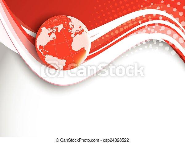tech, experiência vermelha - csp24328522