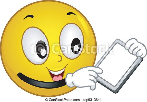 Techie Smiley - csp9313644