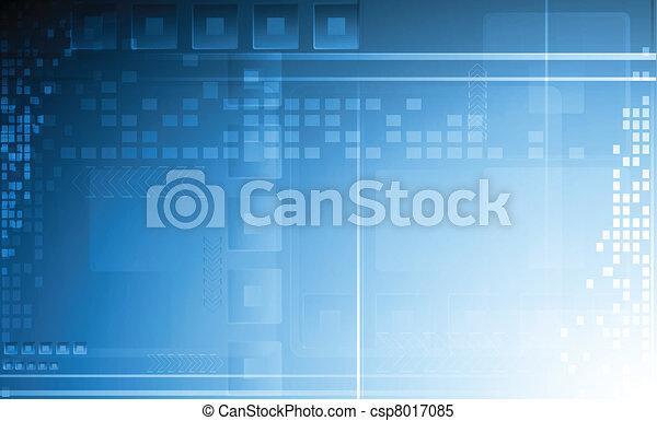 technisch, abstract, achtergrond - csp8017085