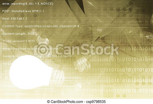 technisch, innovatie - csp9798535