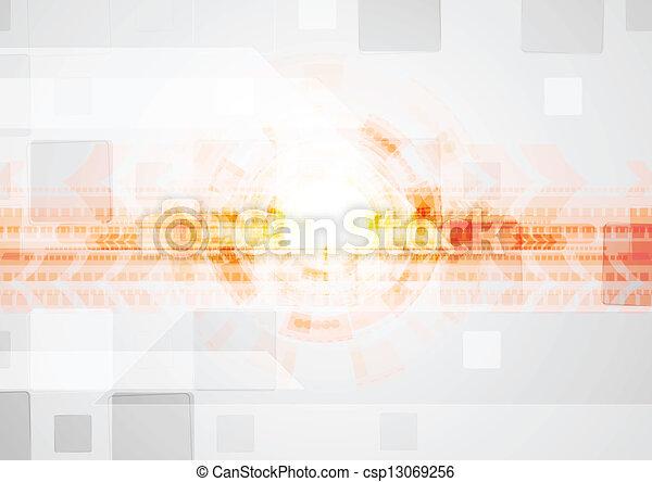 technisch, kleurrijke, ontwerp - csp13069256