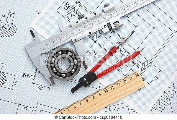 technische tekening - csp6104410