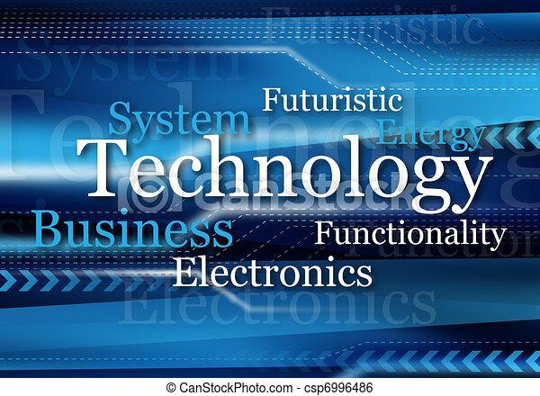 technológia, tervezés - csp6996486
