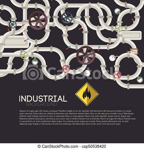 Trasfondo de mecanismo tecnológico - csp50538420