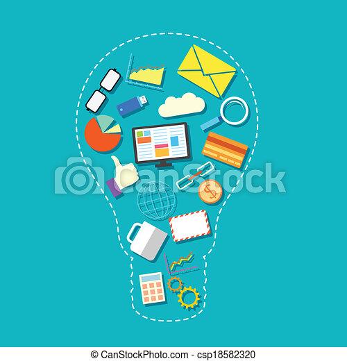 Technological Idea - csp18582320