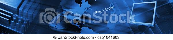 technologie, banner - csp1041603