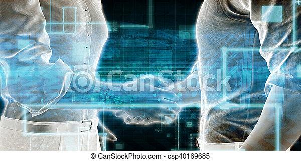 Geschäftstechnik - csp40169685