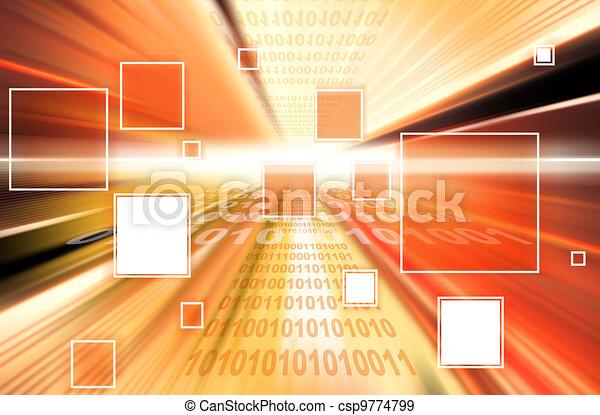 technologie, l, hintergrund - csp9774799