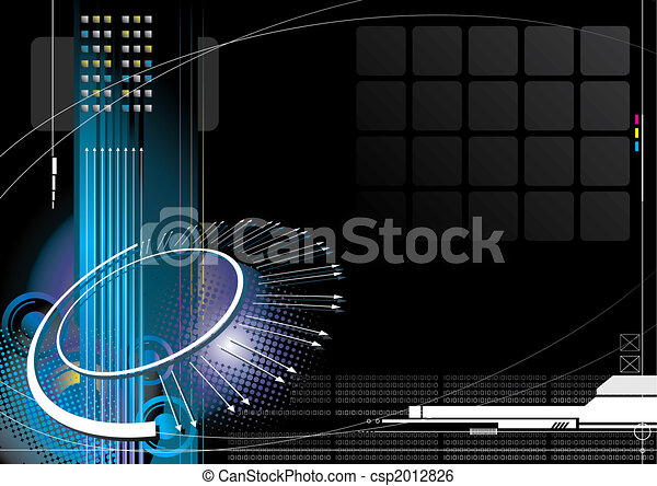 technologie pointe, infinité - csp2012826