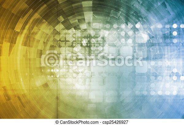 technologie, zakelijk - csp25426927