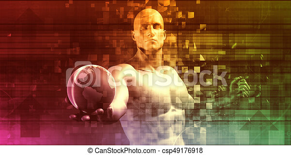 technologie, zakelijk - csp49176918