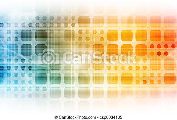 technologie, zakelijk - csp6034105