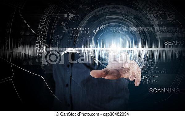 technologies, modern - csp30482034
