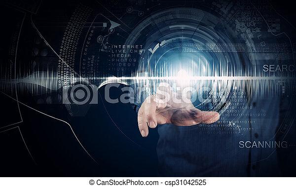 technologies, modern - csp31042525