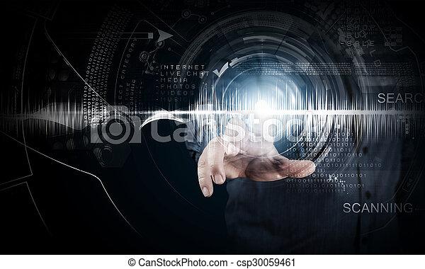 technologies, modern - csp30059461