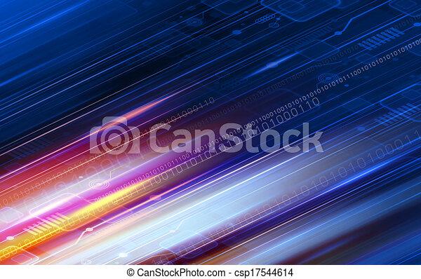 Technology background design  - csp17544614