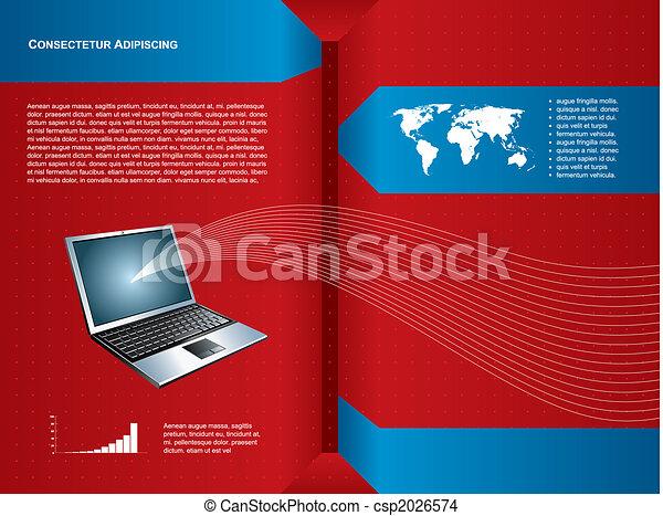 technology background - csp2026574