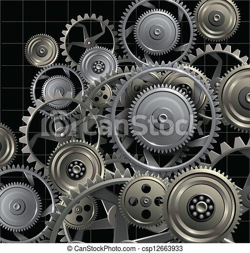 Technology background - csp12663933