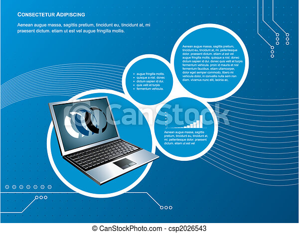 technology background - csp2026543