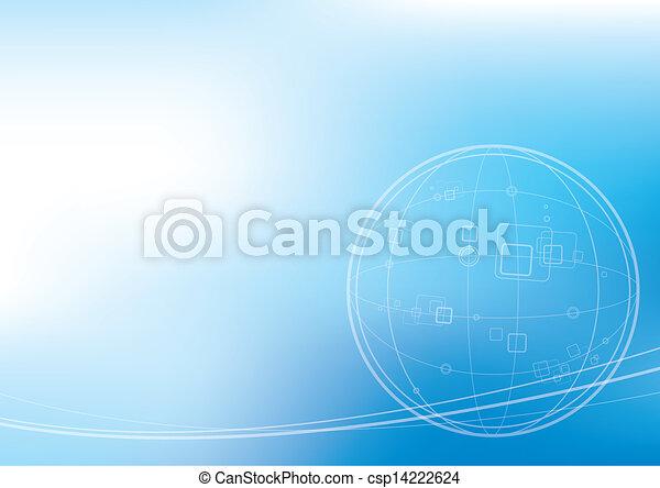 Technology background  - csp14222624