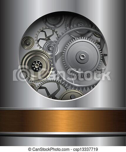 Technology background - csp13337719