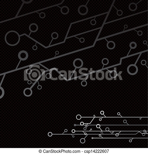Technology background     - csp14222607