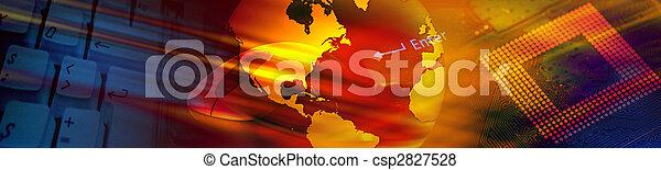 Technology banner - csp2827528
