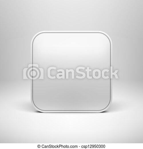 Technology blank app icon template. Technology blank app icon ...